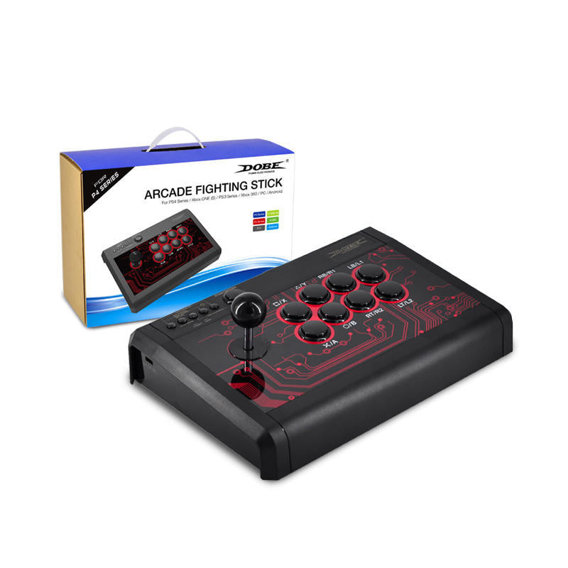 DOBE PS4 ARCADE FIGHTING STICK FOR (PS4/XBOXONE S/PS3/360/PC/ANDROID) TP4-848