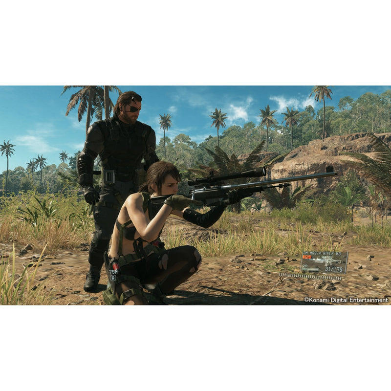 PS4 METAL GEAR SOLID V THE DEFINITIVE EXPERIENCE ALL (ENG/FR/SP) PLAYSTATION HITS