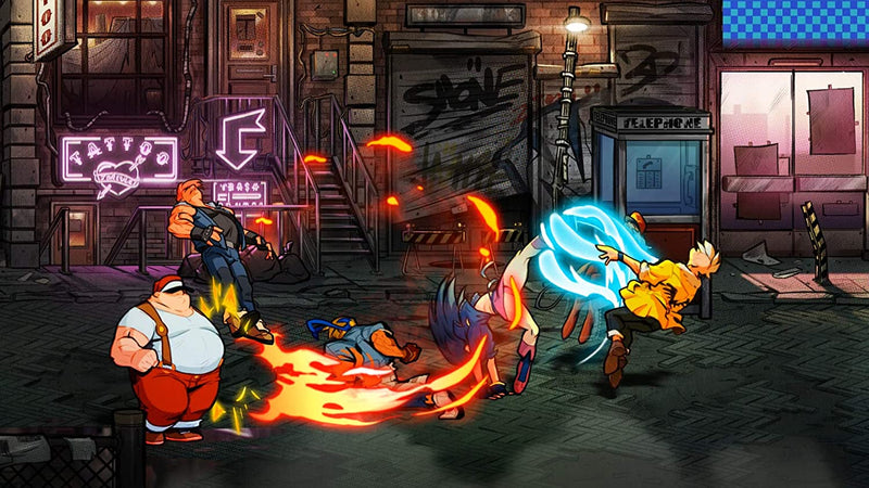 NSW STREETS OF RAGE 4 (INCLUDES ART BOOKLET & KEYRING) (US) (ENG/FR)