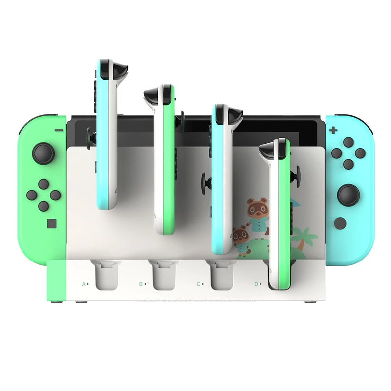 IPEGA CHARGER WITH 4 SLOT FOR N-SWITCH JOY-CON (ANIMAL CROSSING) (PG-9186A)