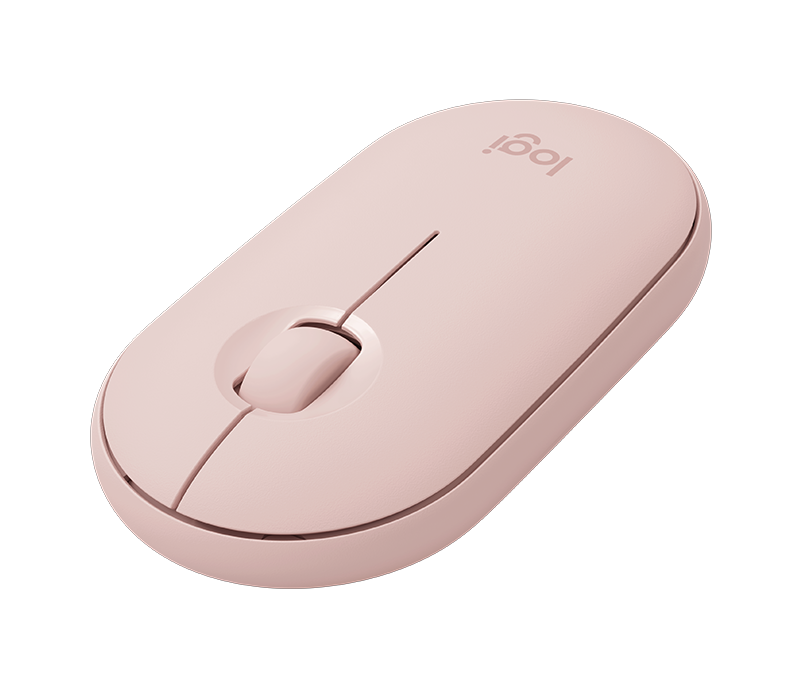 LOGITECH PEBBLE M350 WIRELESS MOUSE (ROSE)
