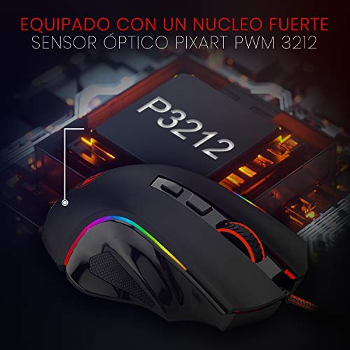 REDRAGON GRIFFIN GAMING MOUSE (M607)