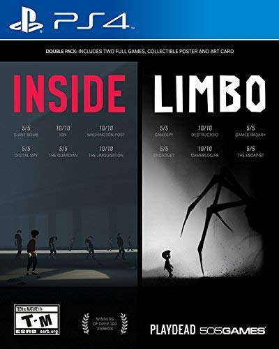 PS4-INSIDE + LIMBO DOUBLE PACK ALL