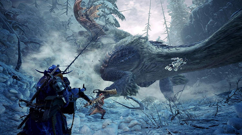 PS4 MONSTER HUNTER WORLD ICEBORNE MASTER EDITION REG.3