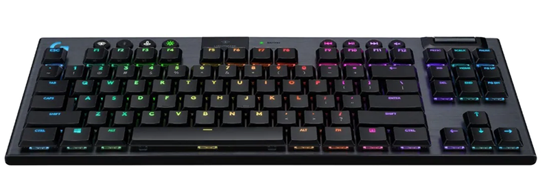 LOGITECH G913 TENKEYLESS LIGHTSPEED WIRELESS RGB MECHANICAL GAMING KEYBOARD (GL CLICKY)