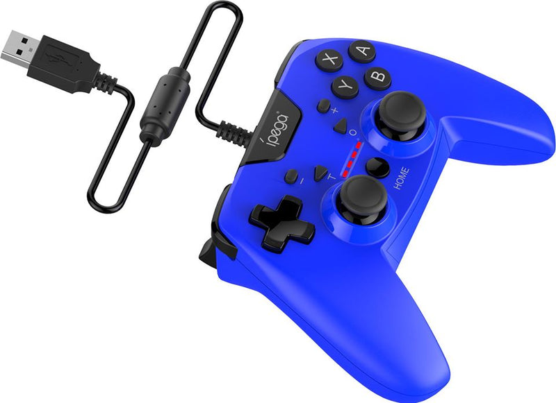 IPEGA WIRED CONTROLLER FOR N-SWITCH/P3/ANDROID/PC BLUE (PG-SW012B)