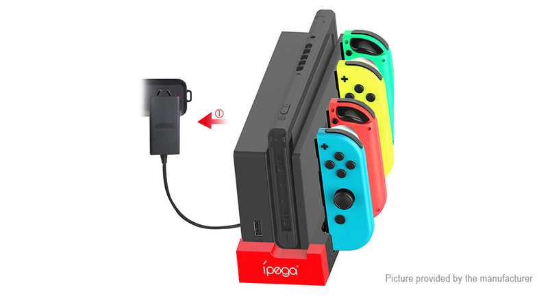 IPEGA CHARGER WITH 4 SLOT FOR N-SWITCH JOY-CON (PG-9186)