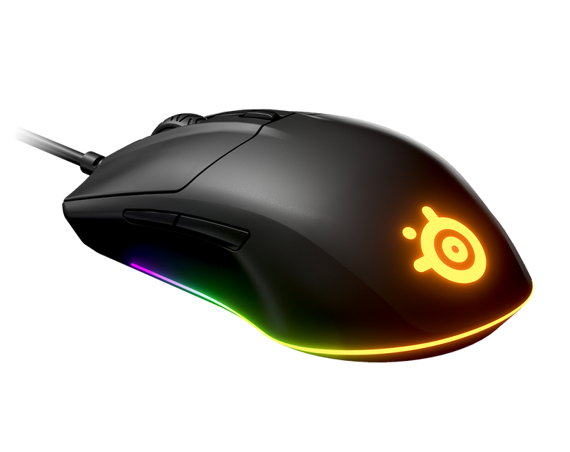 STEELSERIES RIVAL 3 WIRED GAMING MOUSE (PC/MAC) (PN62513)