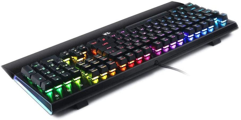 REDRAGON ARYAMAN RGB MECHANICAL GAMING KEYBOARD BLUE SWITCH (K569)