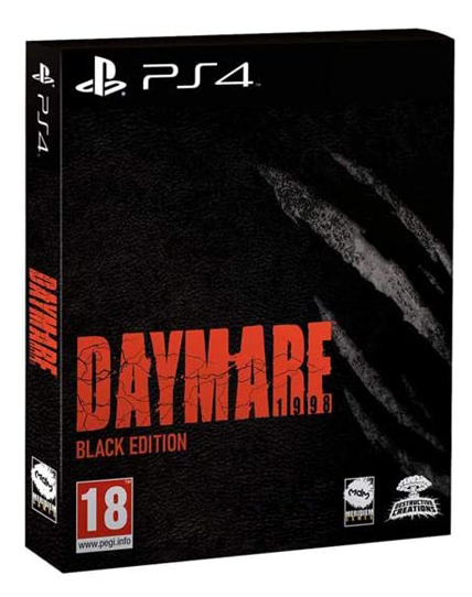 PS4 DAYMARE 1998 BLACK EDITION REG.2