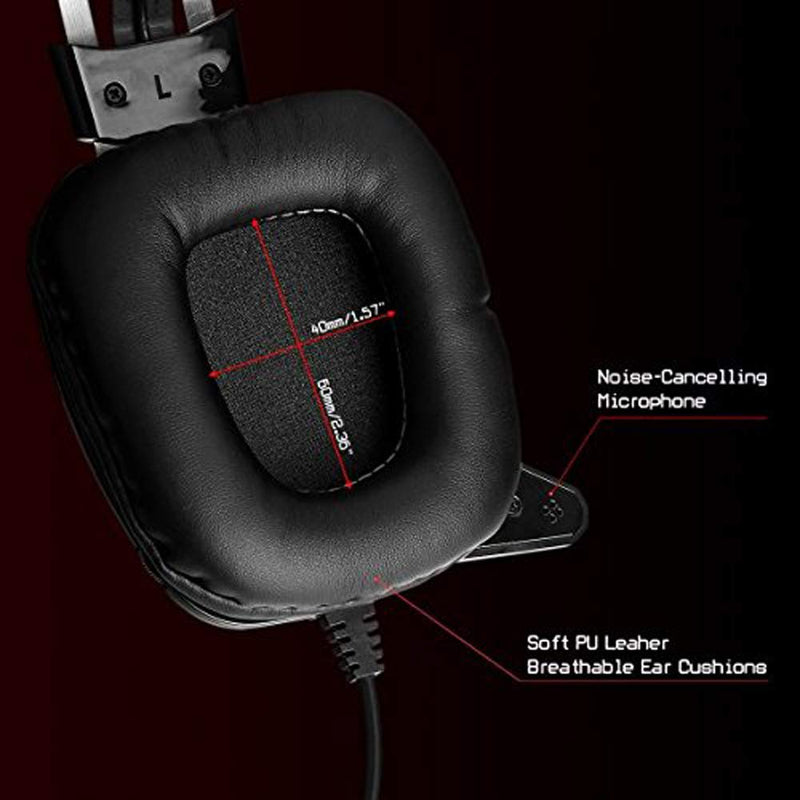 REDRAGON LAGOPASMUTUS WIRED GAMING HEADSET (H201)