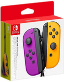 NSW JOY-CON LEFT/RIGHT CONTROLLER NEON PURPLE/NEON ORANGE (EU)