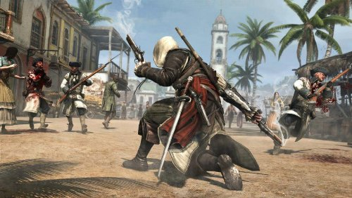 PS4 ASSASSIN'S CREED IV BLACK FLAG REG.3 PLAYSTATION HITS