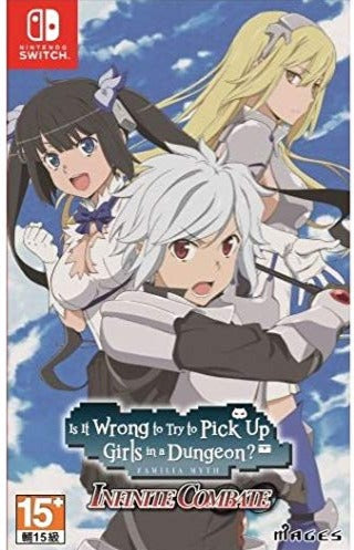 NSW IS IT WRONG TO TRY TO PICK UP GIRLS IN A DUNGEON INFINITE COMBATE (ASIAN) (ENGCHI VER.)