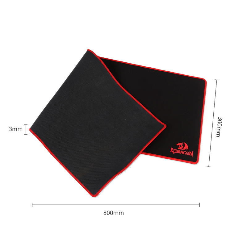 REDRAGON SUZAKU GAMING MOUSE MAT (800X300X3MM) (P003)