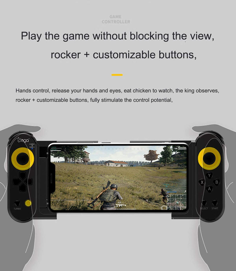 IPEGA DUAL THORN WIRELESS CONTROLLER FOR IPHONE/IPAD/ANDROID SMARTPHONES/TABLETS (PG-9167)