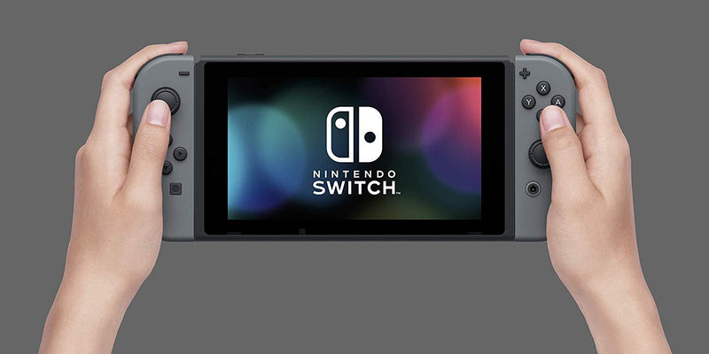 NINTENDO SWITCH CONSOLE WITH GREY JOYCON (REFRESH)