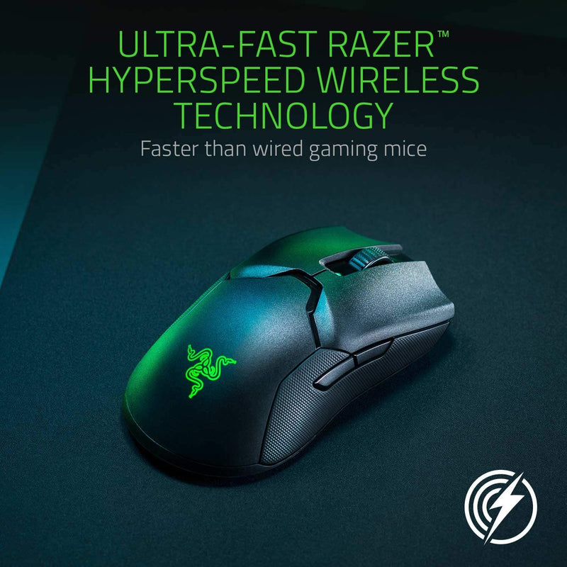 RAZER VIPER ULTIMATE WIRELESS GAMING MOUSE WITH CHARGING DOCK