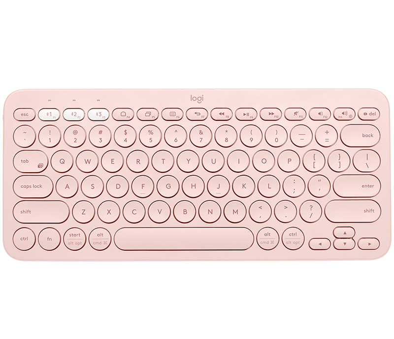 LOGITECH K380 MULTI-DEVICE BLUETOOTH KEYBOARD (ROSE)