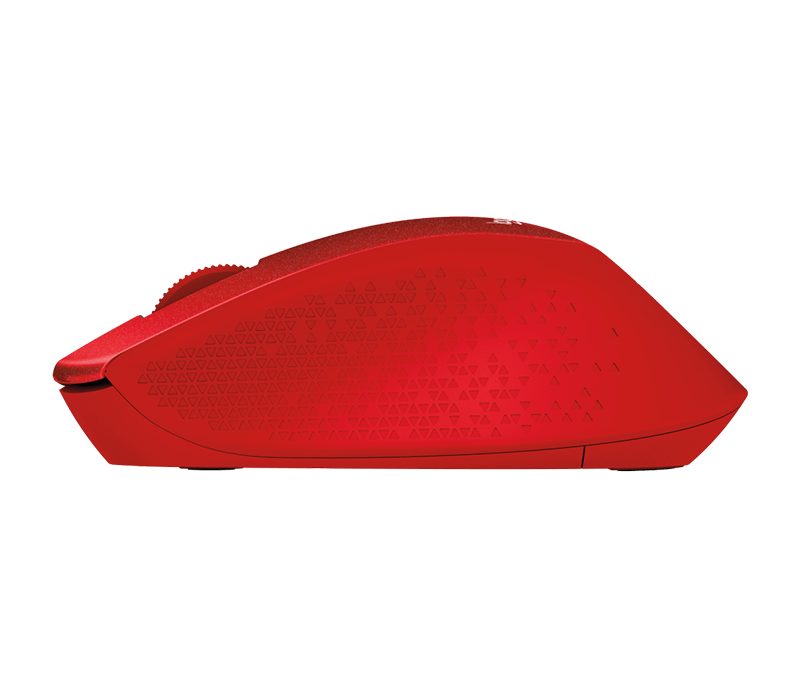 LOGITECH M331 SILENT PLUS WIRELESS MOUSE RED