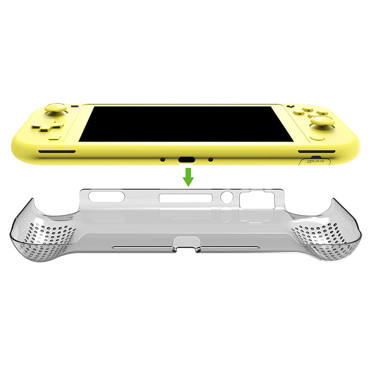 DOBE NSW CRYSTAL CASE PC MATERIAL FOR N-SWITCH LITE (TRANSPARENT) (TNS-19112)