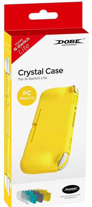 DOBE NSW CRYSTAL CASE PC MATERIAL FOR N-SWITCH LITE (DARK GRAY) (TNS-19112)