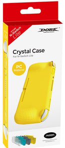 DOBE NSW CRYSTAL CASE PC MATERIAL FOR N-SWITCH LITE (YELLOW) (TNS-19112)
