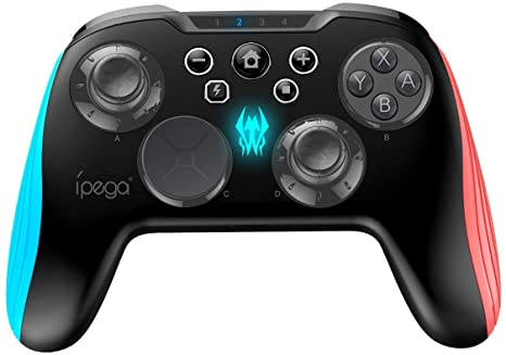IPEGA WIRELESS CONTROLLER FOR N-SWITCH/PC/ANDROID (PG-9139)