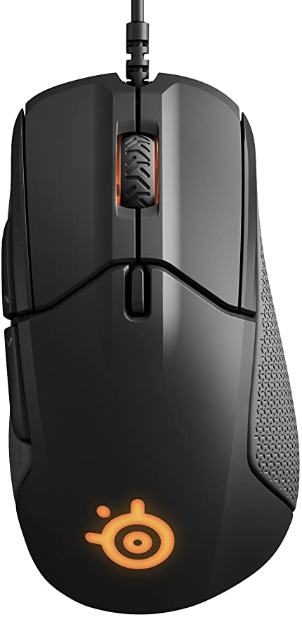 STEELSERIES RIVAL 310 ERGONOMIC GAMING MOUSE BLACK (PN62433)