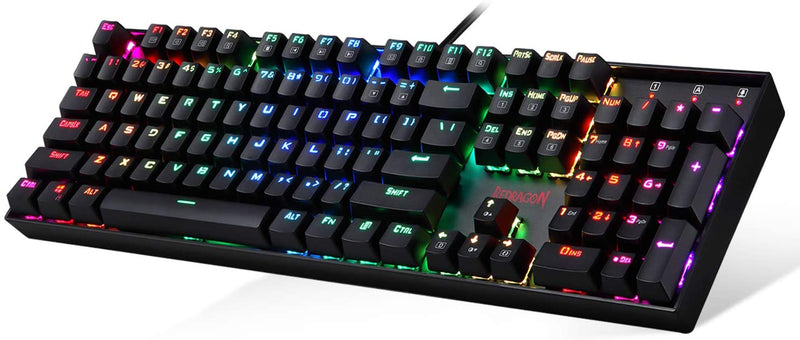 REDRAGON MITRA RGB MECHANICAL GAMING KEYBOARD (K551RGB-1) (RED SWITCH)