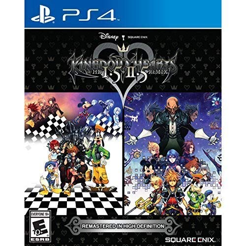 PS4 KINGDOM HEARTS HD 1.5 + 2.5 REMIX (ALL) (ENG/FR)