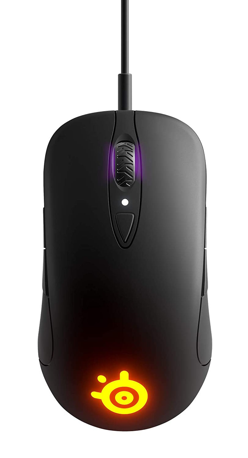 STEELSERIES SENSEI TEN WIRED AMBIDEXTROUS GAMING MOUSE (BLACK) (PN62527)