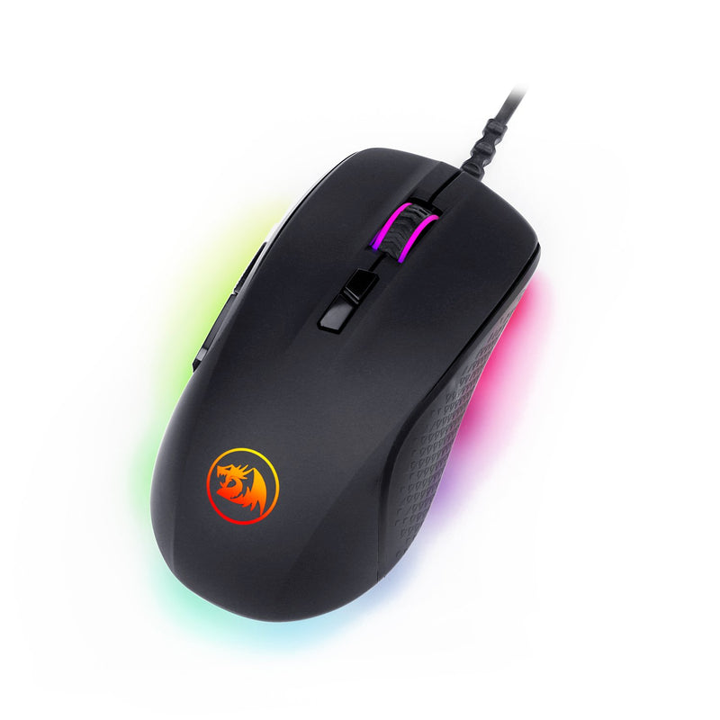 REDRAGON STORMRAGE RGB GAMING MOUSE FOR BATTLEGROUNDS (M718 RGB)