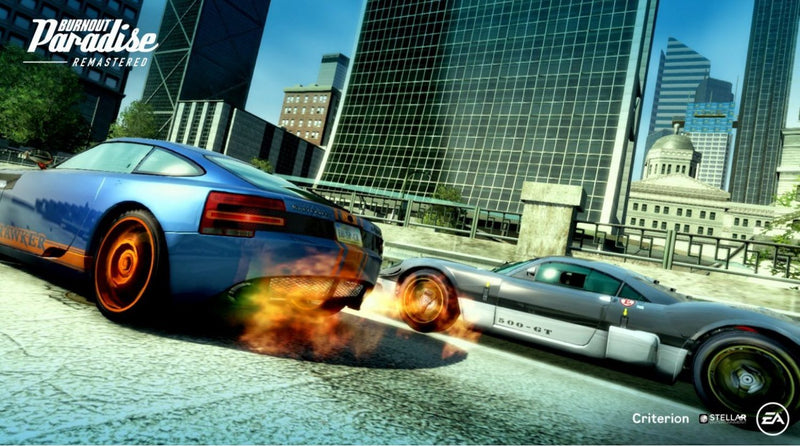 NSW BURNOUT PARADISE REMASTERED (EU)