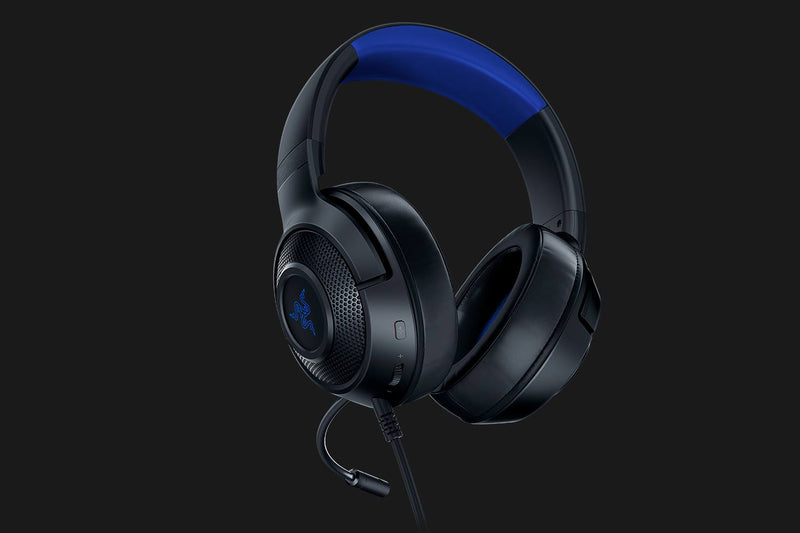 RAZER KRAKEN X FOR CONSOLE WIRED CONSOLE GAMING HEADSET (BLACK/BLUE)
