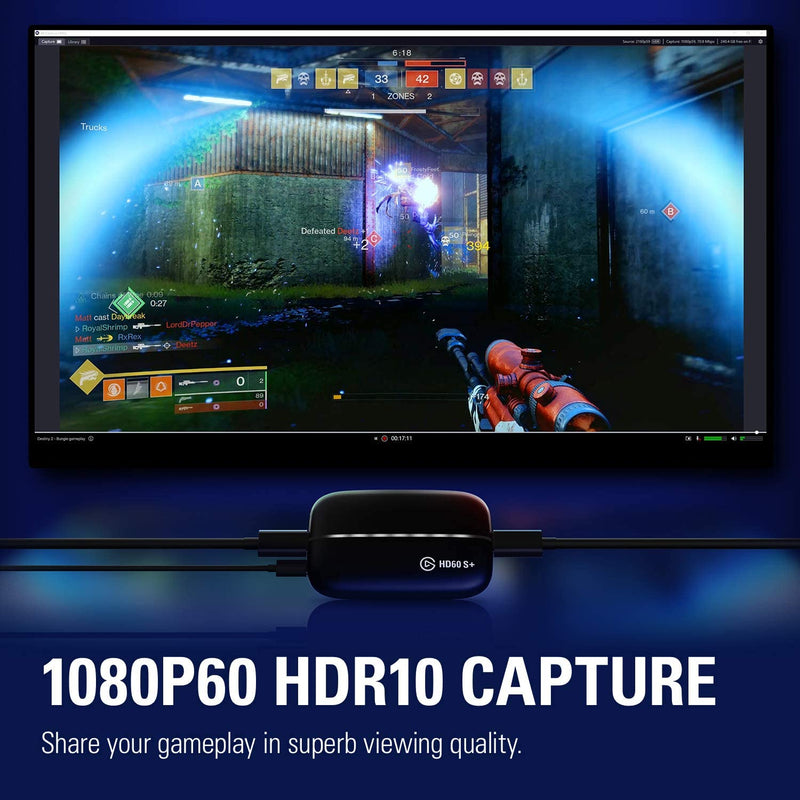 ELGATO HD60 S+ GAME CAPTURE