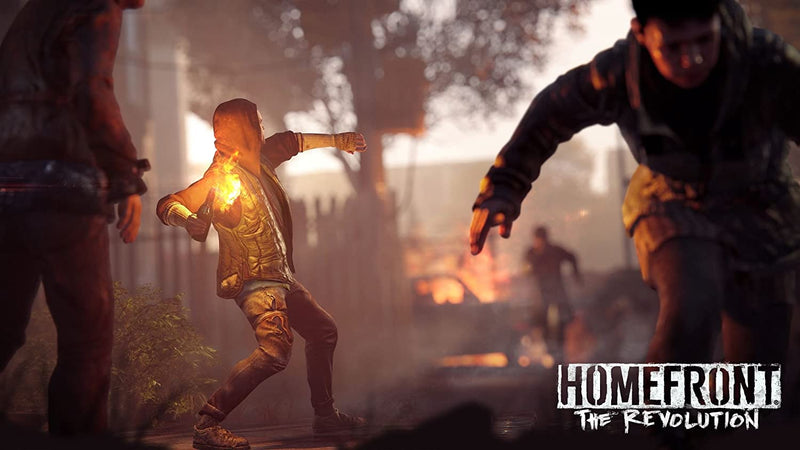 PS4 HOMEFRONT THE REVOLUTION ALL (ENG/SP)