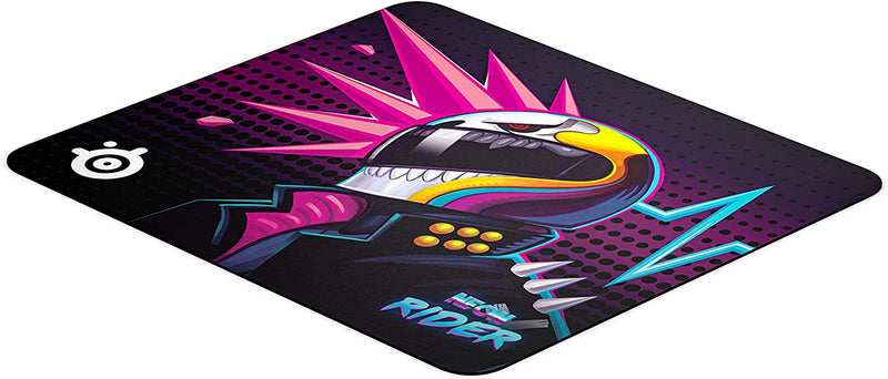 STEELSERIES QCK LARGE NEON RIDER LIMITED EDITION CLOTH GAMING MOUSEPAD (PN63837)