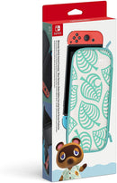ANIMAL CROSSING NEW HORIZONS ALOHA EDITION CARRYING CASE & SCREEN PROTECTOR FOR NINTENDO SWITCH