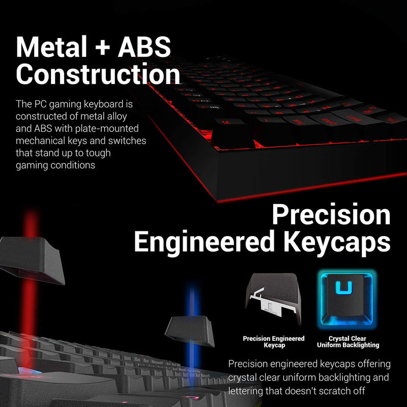 REDRAGON GAMING ESSENTIALS KEYBOARD & MOUSE 2 IN 1 SET (K552RGB-BA)