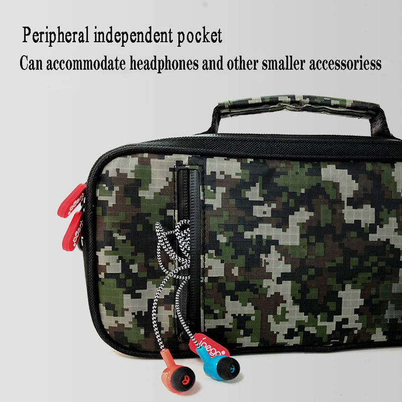 IPEGA CAMOUFLAGE TRAVEL AND CARRY CASE FOR NSW (PG-9185)