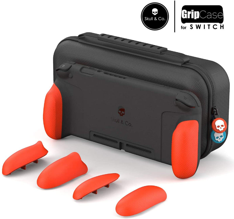 SKULL & CO. NSW MAXCARRY GRIP CASE DOUBLE NEON RED (NSGCSET-RD)