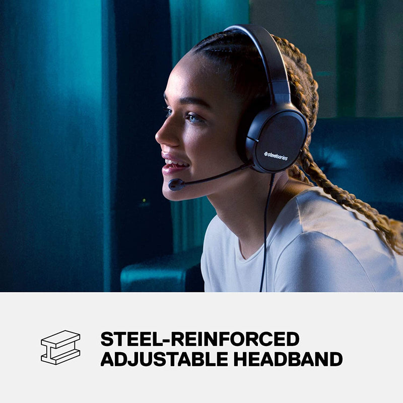 STEELSERIES ARCTIS 1 ALL-PLATFORM WIRED GAMING HEADSET (PC/SWITCH/XBOX/PS4) (PN61427)