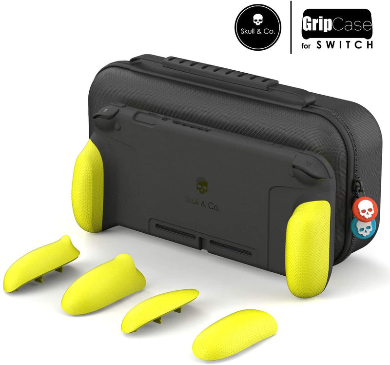 SKULL & CO. NSW MAXCARRY GRIP CASE NEON YELLOW (NSGCSET-YL)