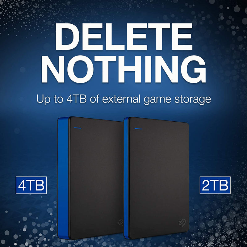 PS4 SEAGATE 4TB/TO GAME DRIVE ADD-ON STORAGE