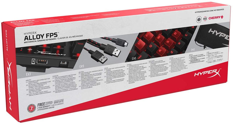 HYPERX ALLOY FPS MECHANICAL GAMING KEYBOARD (CHERRY MX RED)