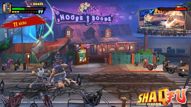 NSW SHAQ FU A LEGEND REBORN (US)