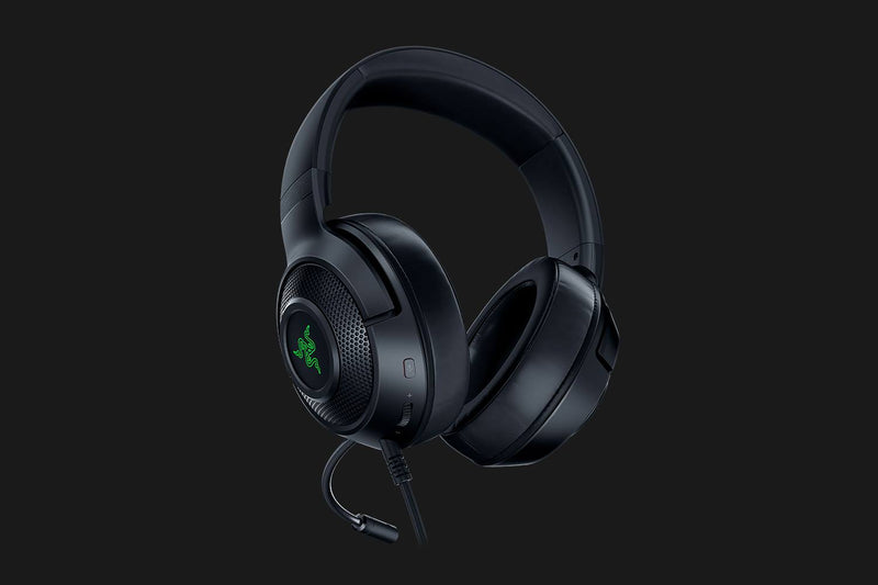 RAZER KRAKEN X USB DIGITAL 7.1 SURROUND SOUND GAMING HEADSET (BLACK)