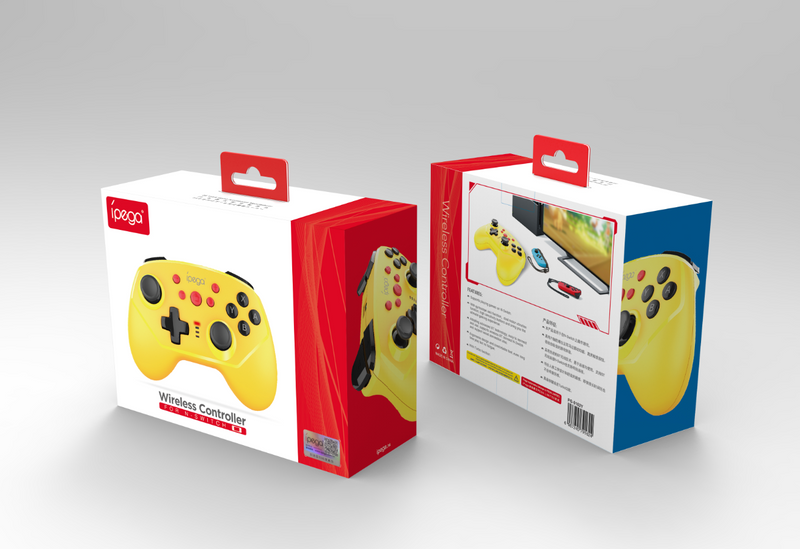IPEGA WIRELESS CONTROLLER FOR N-SWITCH YELLOW (PG-9162Y)