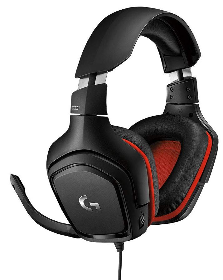 LOGITECH G331 LEATHERETTE STEREO GAMING HEADSET